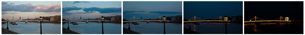Albert Bridge filmstrip