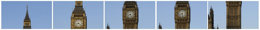 Big Ben tilt timelapse filmstrip