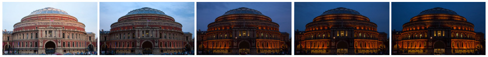 Albert Hall filmstrip