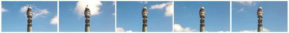 BT Tower wide filmstrip