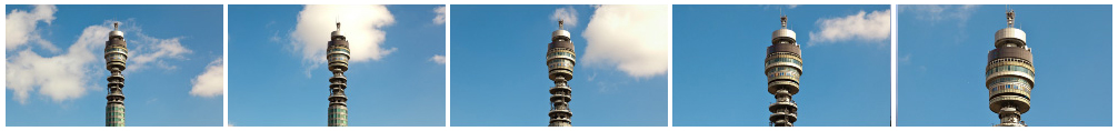 BT Tower zoom filmstrip