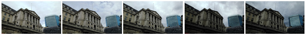 Bank of England static filmstrip