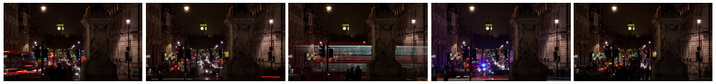 Big Ben at night Whitehall filmstrip