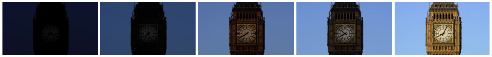 Big ben timelapse 1 filmstrip