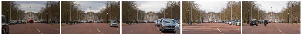 Buckingham Palace filmstrip