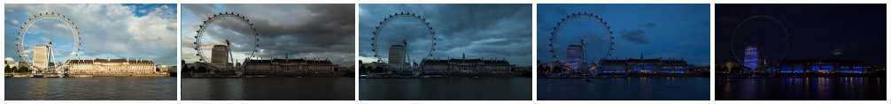 London Eye South Bank filmstrip