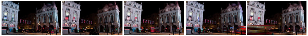 Piccaddilly Circus wide filmstrip
