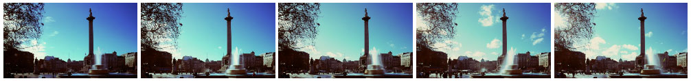 Trafalgar Sq clean filmstrip