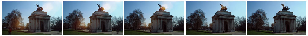 Wellington Arch filmstrip